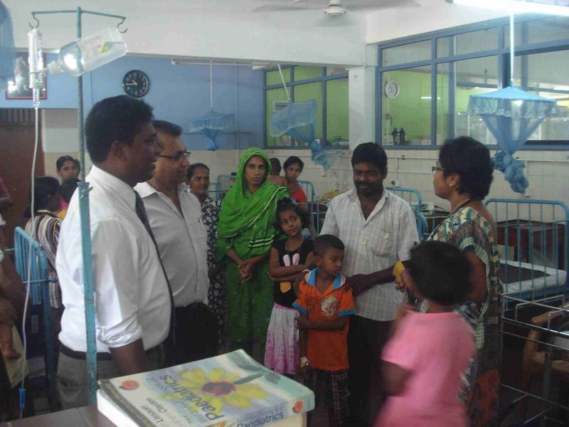 Lady Ridgeway Children's hospital and Karapitiya Teaching Hospital