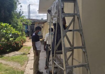 Supply and installation of piped medical gas